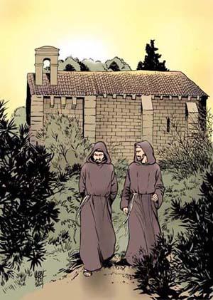 François d'Assise et frère Massée