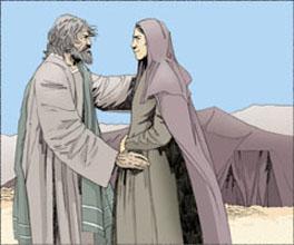 Abraham et Sara