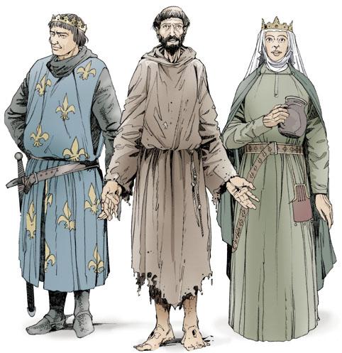Saint Francis of Assisi Saint Louis Saint Elizabeth