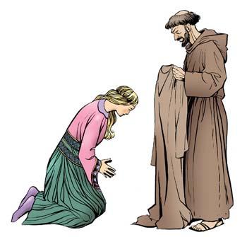Sainte Claire d'Assise en quelques dates